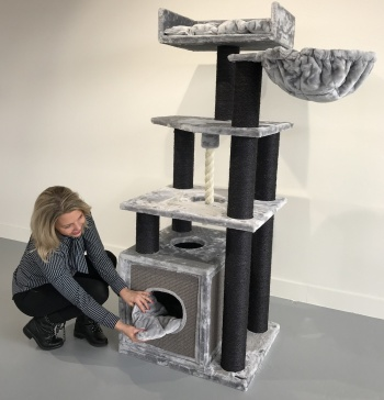 rhrquality-krabpaal-cat-relax-blackline-light-grey