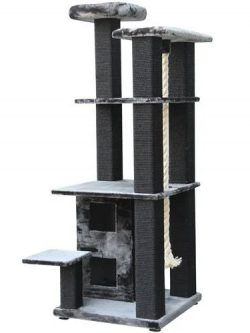 Krabpaal-XXL-grijs-zwart